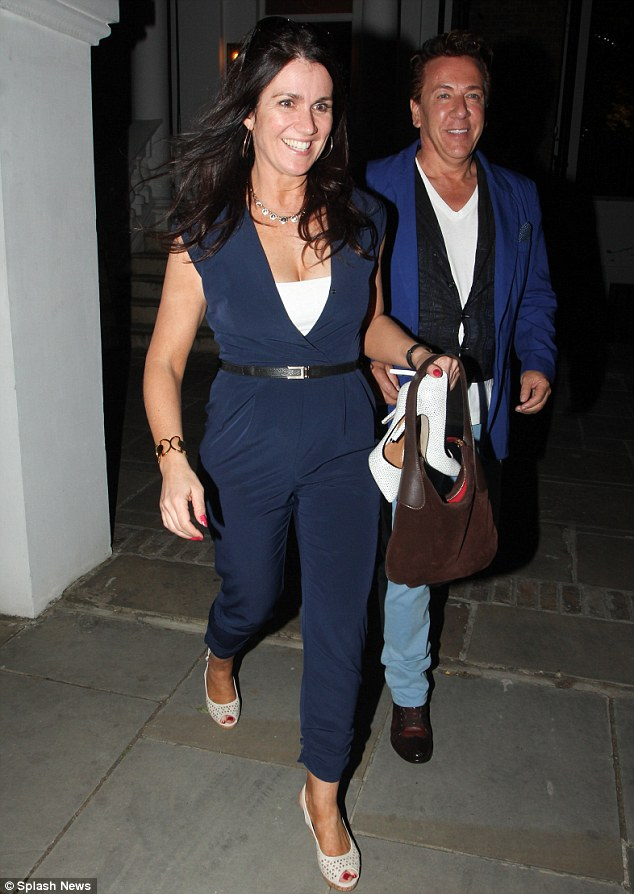 News night out: Susanna Reid was seen at the ITV Summer Party on Thursday evening