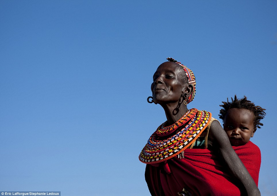 Symbolic: Women whose first born child is a son wear extra earrings as do those who have managed to add several boys to their clan