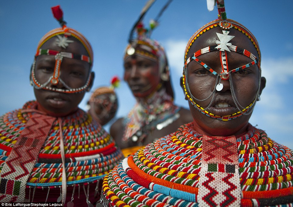Pastoralists: Both Samburu and Rendille tribes are semi-nomadic pastoralists who rely on their livestock, including huge flocks of goats, to survive