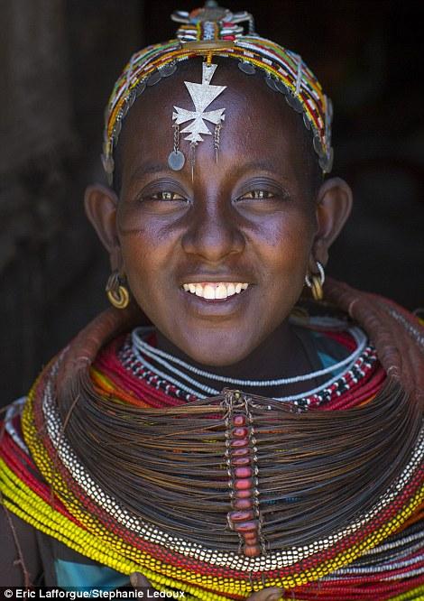 Beautiful: A Rendille woman in her jewellery