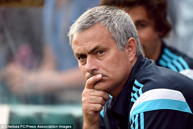 Mastermind: Jose Mourinho missed his own son's football match to sign Fabregas for Chelsea