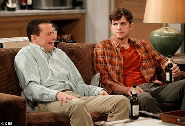 More than friends: Ashton Kutcher's character will propose to Jon Cryer in order to try and adopt a child on the final season of Two And A Half Men