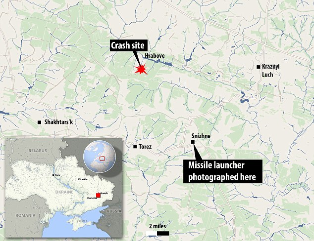 OSCE inspectors will visit the crash site throughout the week. International agencies are now trying to figure out concretely who launched the missile