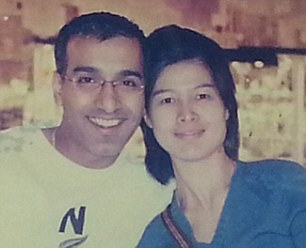 Here¿s a picture of MH17 flight steward Sanjid Singh Sandhu, 41, his air stewardess wife Tan Bee Jeok, 43. They have a 10-year-old son Hans ...Tan was supposed to have been on the ill-fated MH370 which went missing on March 8 and on MH17 as well. But her life wasspared when she switched her shift with a colleague. Sanjid was supposed to have been off but instead swapped his shift with another steward.