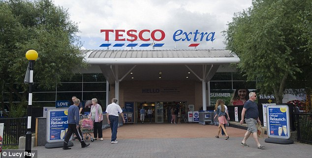 Construction plan: Tesco will build homes on land earmarked for supermarkets in response to changing customer demand.