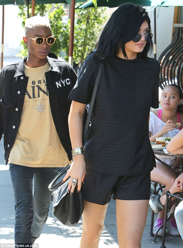 Lunch date: Kylie was seen out on July 10 heading to lunch with her friend Shamari Maurice in West Hollywood
