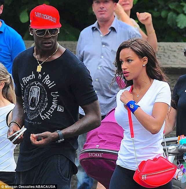 For business and pleasure? Mario was spotted carrying two phones whilst out and about in New York
