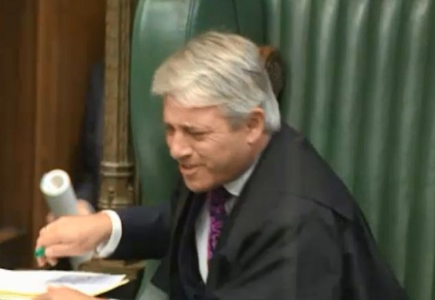 I wanted to accuse John Bercow of rudeness face-to-face. Parliament deserves better