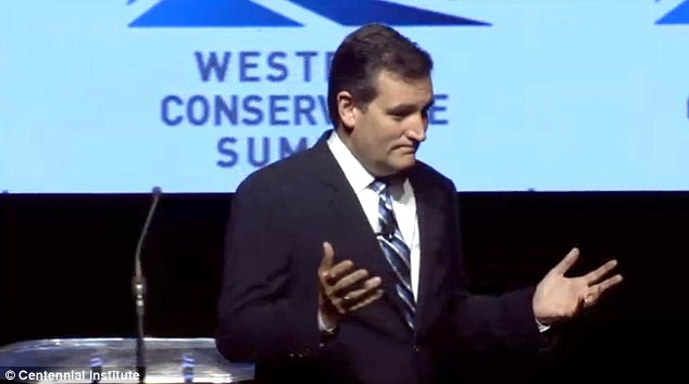 Cruz delivered a speech full of anti-Obama barbs Saturday night, touching on immigration, education, foreign policy and religious freedom