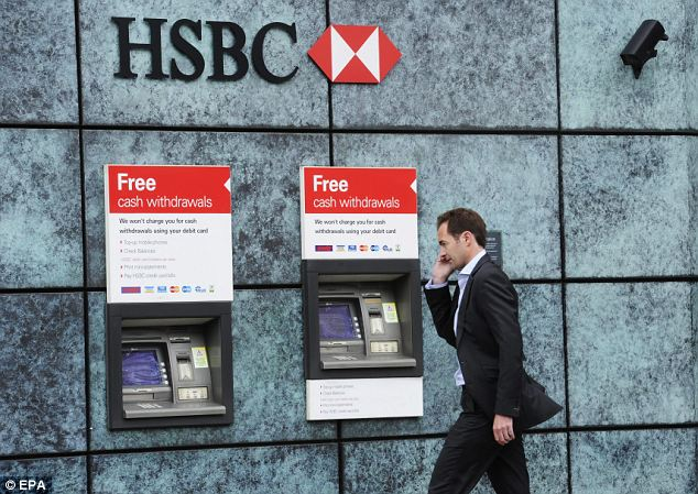 Bank back: HSBC's return to the portfolio return follows chief executive Stuart Gulliver's decision to offer a progressive dividend policy, meaning that dividends should rise every year.