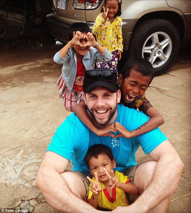 The Melbourne man set up a Facebook page called Pete's Chastity for Charity and raised more than $50K for a charity that supports children in Cambodia