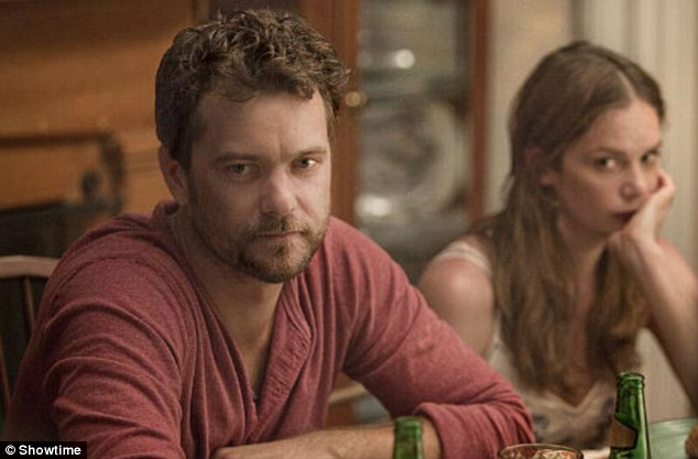 Devastated husband: Joshua stars as cuckolded Cole in the new Showtime drama series The Affair, which premieres October 12