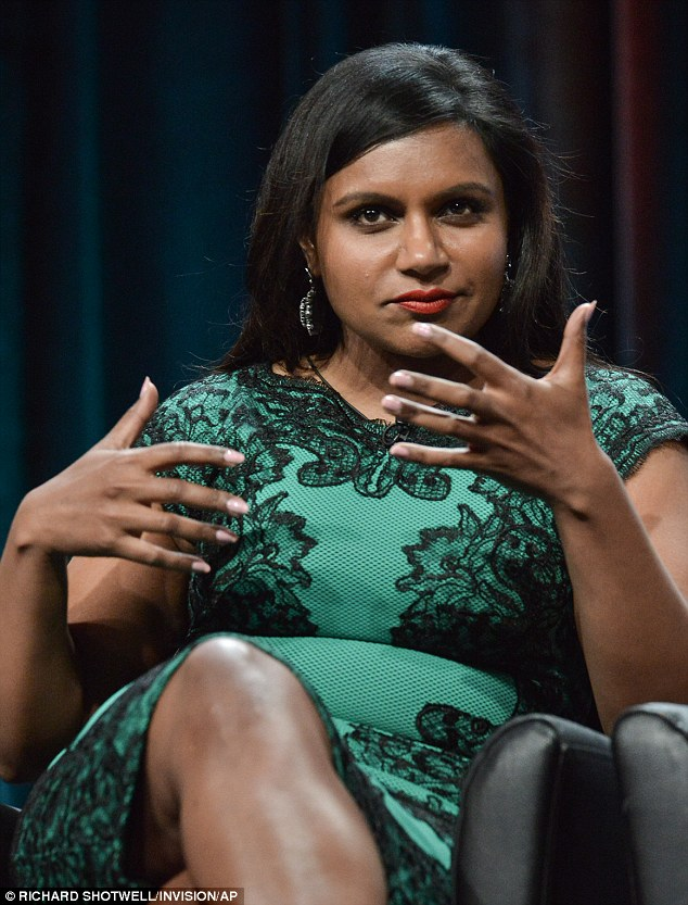 Speaking at the Behind the Laughs panel: The 35-year-old actress and creator of The Mindy Project will premiere her third season on September 16