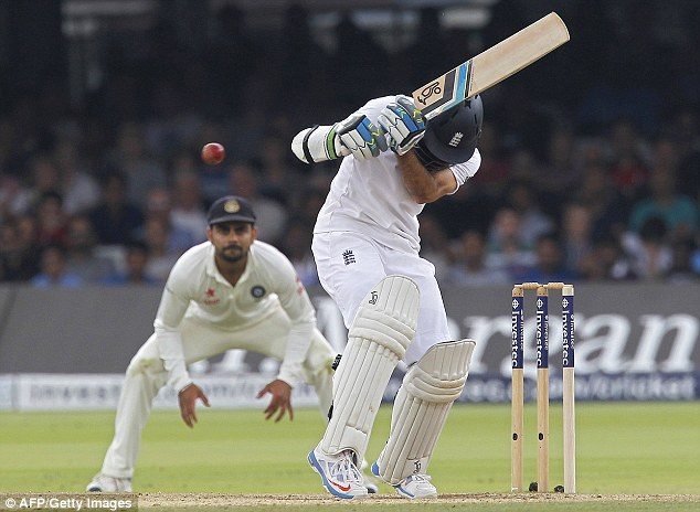 Bounced out: Moeen Ali was dismissed with the last ball before lunch at Lord's
