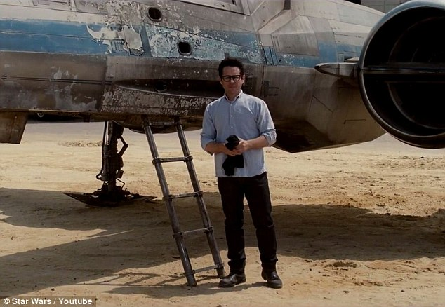 Here we go: The aircraft is a key prop in the reworking of the popular science fiction franchise