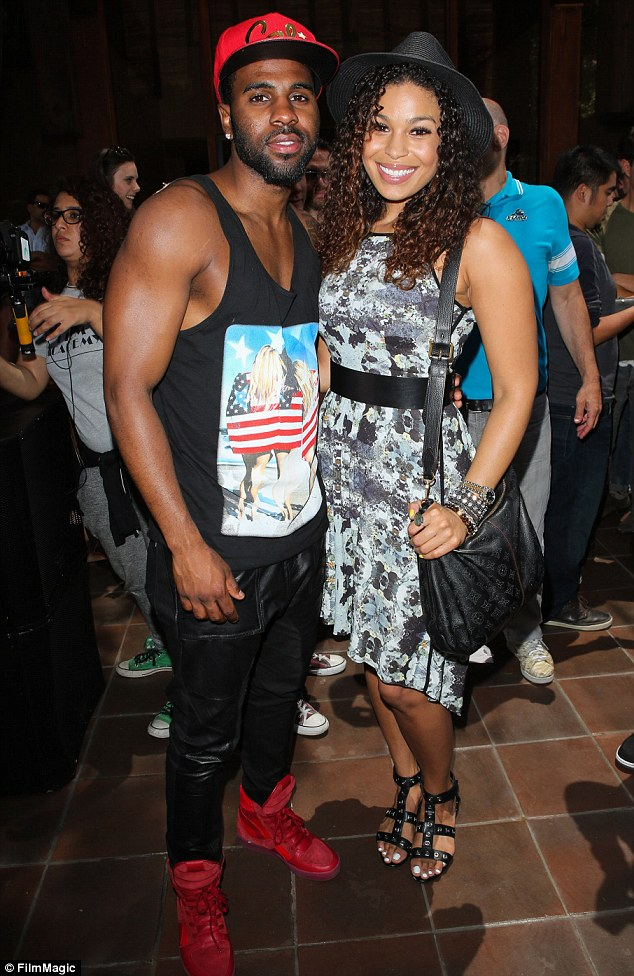 What a cute couple: The singers at Summer Sessions in LA on July 11