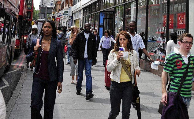 The state will in future try to gauge levels of racial prejudice by trying to work out how many people have friends from other ethnic backgrounds, how much crime is influenced by racial prejudice, and how much people respect the idea of diversity. File picture