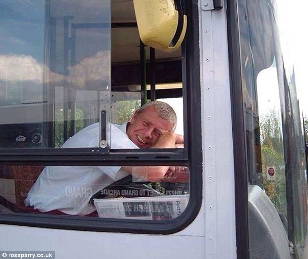 'A wonderful person': Mr Morley was killed as he tried to fix one of the two passenger doors after it got stuck when his last customer alighted