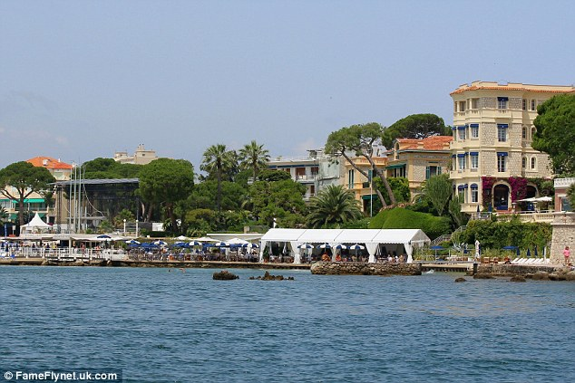 The Riviera: Richard, Judy and Chloe would have certainly enjoyed the tranquil setting of their holiday destination