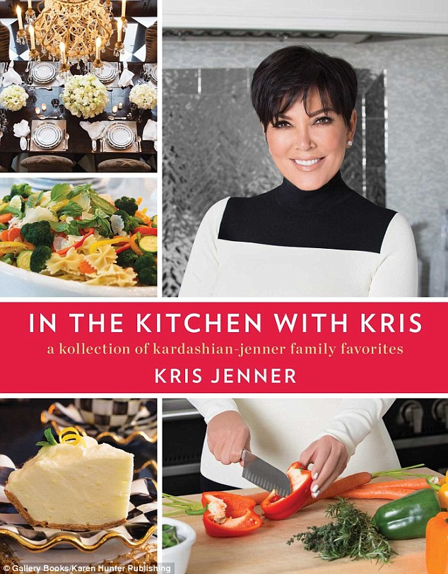Who knew she cooked? Kris Jenner will release a new cookbook in October featuring family recipes and entertaining tips