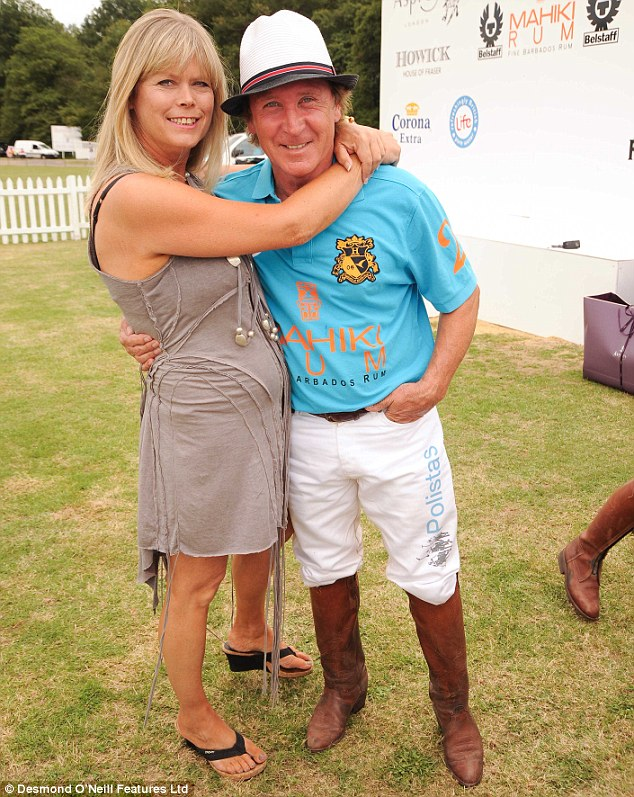 Last September Kenney Jones, pictured with wife Jayne, was diagnosed with prostate cancer