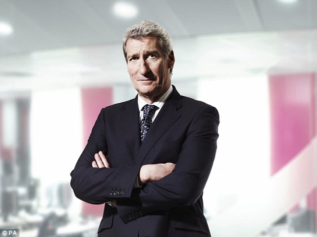 Adversary: Will Davis attempt to match Paxman's famous aggressive interviewing style?