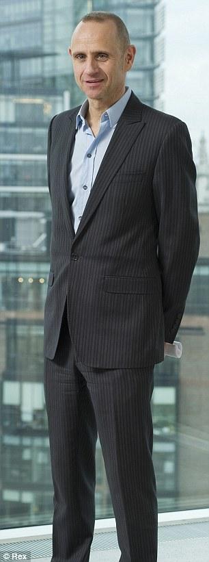 Top job: Radio Four presenter Evan Davis is to replace Jeremy Paxman on Newsnight