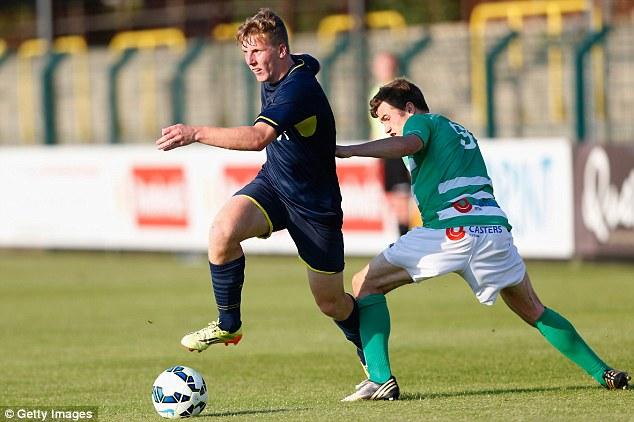 Bright future: Promising full-back Matt Targett (left) will hope to emulate Luke Shaw's rise at Southampton
