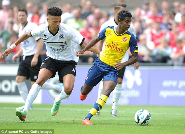 History: Gedion Zelalem (right) is the first player born after Arsene Wenger joined Arsenal to play for them