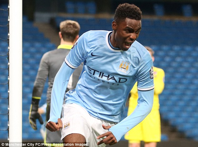 Family affair: Devante Cole, son of Manchester United legend Andy, will hope to emulate his father's success