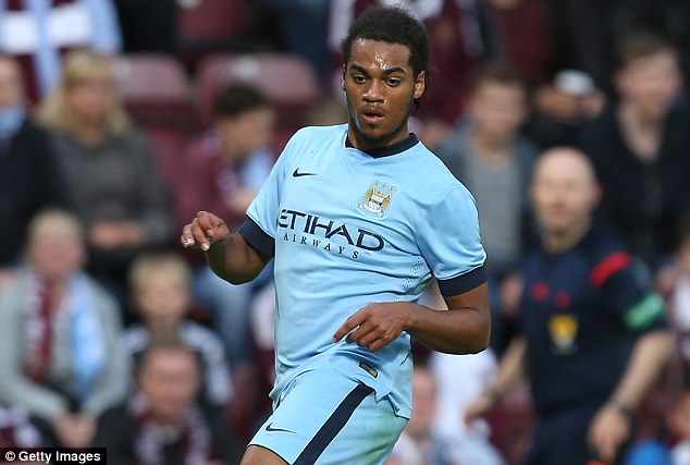 Captain material? Jason Denayer has been compared to City first-team skipper Vincent Kompany