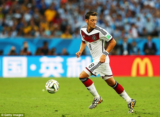 Big money move: The inspector said that Arsenal could not plead poverty when signing players like Mesut Ozil