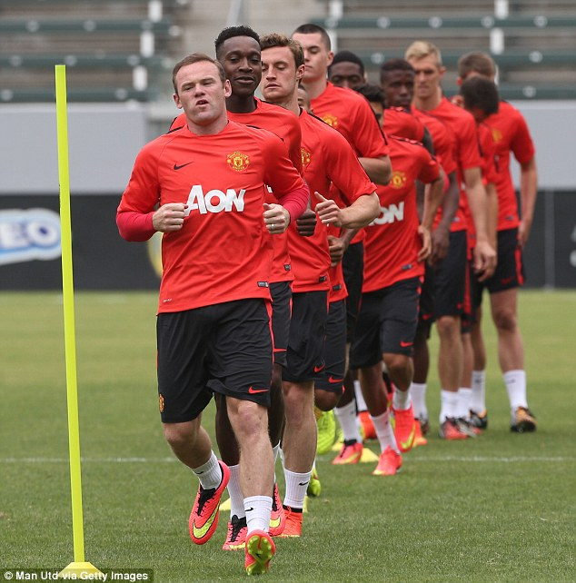 Hard yards: United face Roma, Inter Milan and Real Madrid after Thursday's pre-season friendly in California