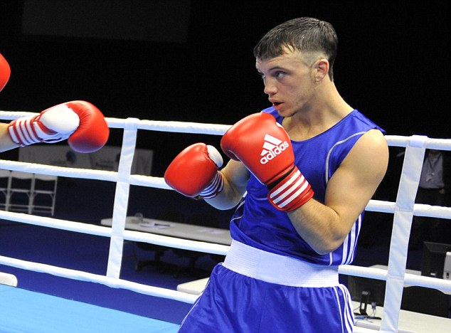Out: Boxer Fred Evans is set to miss the Commonwealth Games