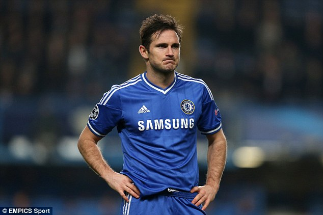 The end of an era: Frank Lampard looks set to join New York City FC