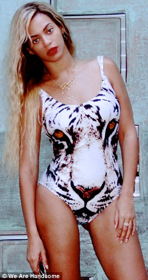 A-list support: Beyonce and Katy Perry are fans of the label and have been seen in designs featuring a tiger's face