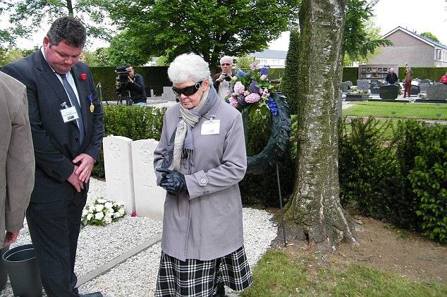 Sister Philomene attended the commemorative service in the Netherlands some weeks before she herself passed away