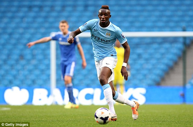 Youngster: Fofana in action during an Under-21 match against Chelsea last season at the Etihad