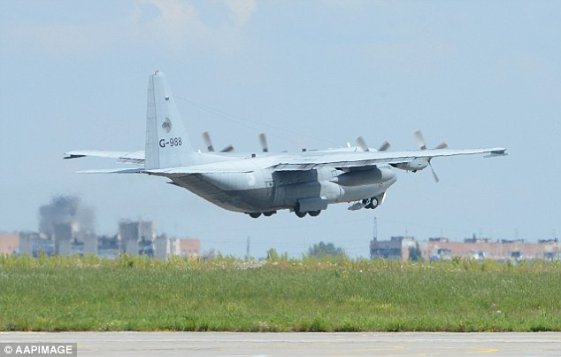 The first set of bodies are due to arrive in the Netherlands today, six days after the plane crashed. But despite being left out in the wind and rain for days, experts say it should not be too difficult identifying the remains. Pictured is a Dutch C130 aircraft carrying 16 bodies leaving Ukraine soil bound for the Netherlands