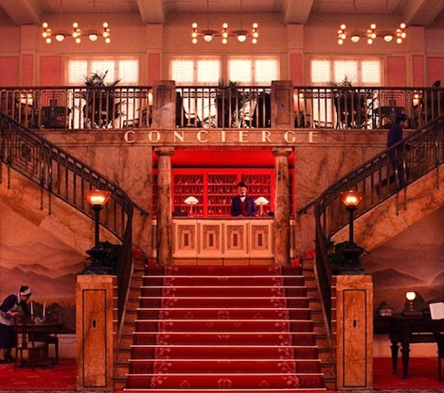 The Grand staircase: The lobby boy gets a lot of mentions in the 'reviews' on the website