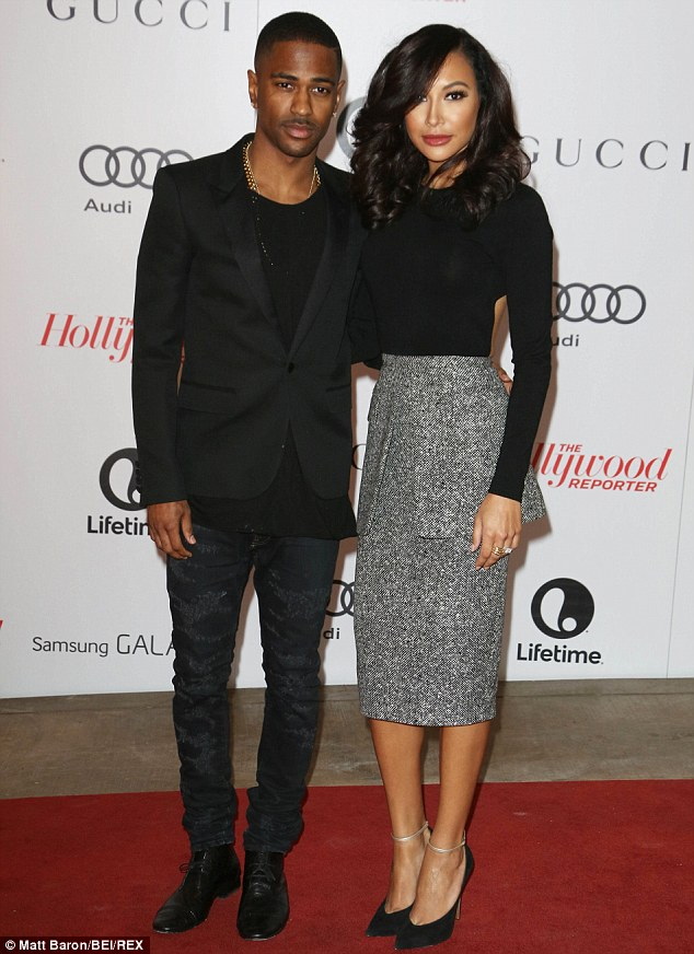 Short-lived: Naya split from ex-fiance Big Sean in April after a year together and a six month engagement