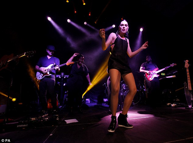 Jessie J owned the stage for Girl Effect Live, an all-day festival that took place in East London