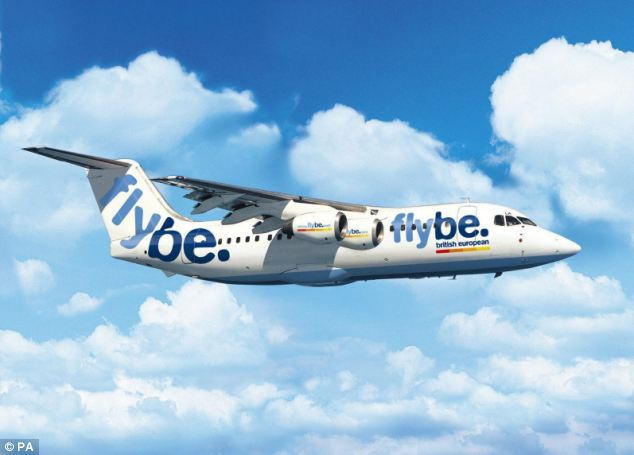Rise: The airline, which serves around 35 UK airports having reduced its number of bases from 13 to seven in the last year, said passenger revenues per seat rose