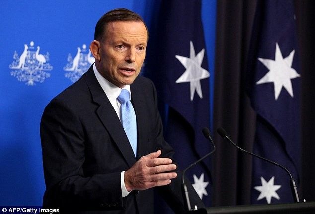 Mr Abbott said a range of options were being considered, but wouldn't be drawn on specific details