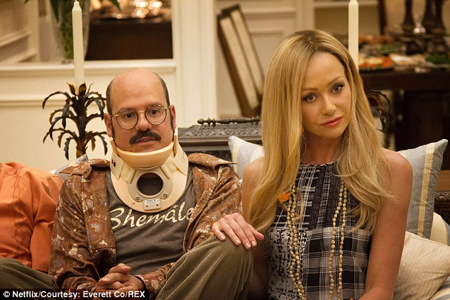 Back to her roots: Last year, the star reprised her role of Lindsay Bluth Fünke in comedy Arrested Development, with 15 new episodes dropping on Netflix seven years after the show came to an end after three seasons