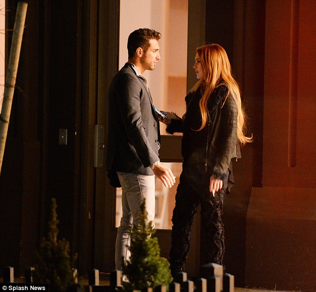 Ladies' man: In April, he was spotted enjoying a one-on-one dinner in New York with Lindsay Lohan before onlookers reported that they headed to the same home following a meal