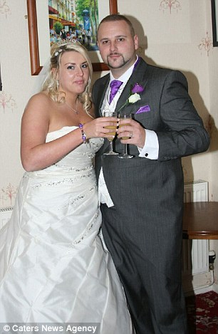 A year on, she has made a remarkable recovery and married partner Chris, 29