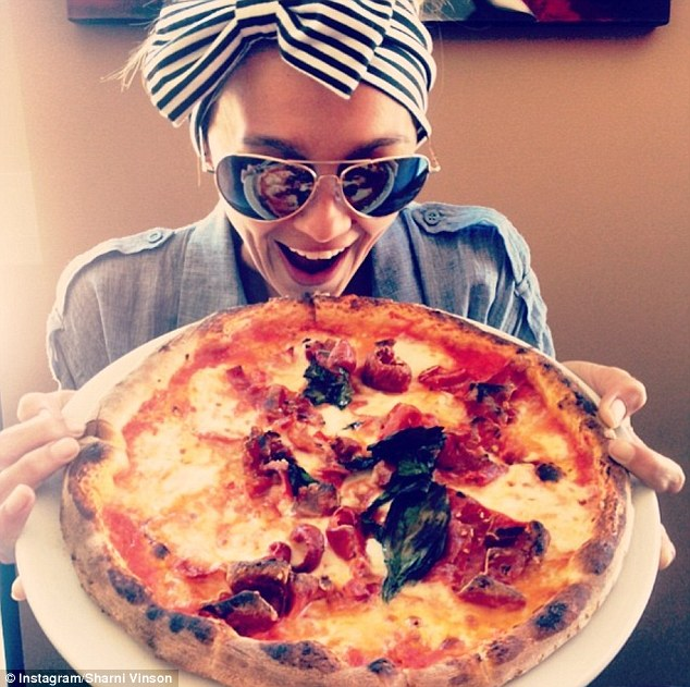 Who needs cake? She earlier admitted to preferring birthday pizza to cake