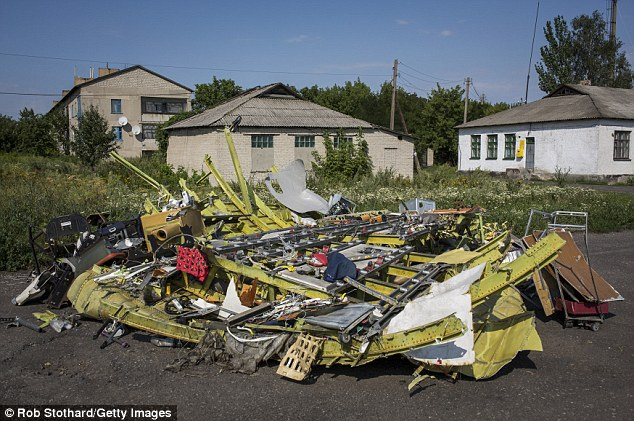 More parts of MH17's wreckage in the village of Petropavlivka