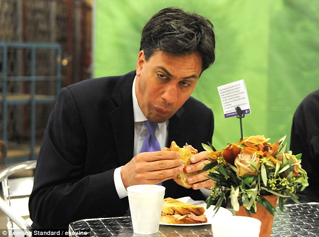 Labour leader Ed Miliband has struggled to shake off criticism of his public image, most notably after he appeared to struggle to eat a bacon sandwich during a photo opportunity at New Covent Garden Market